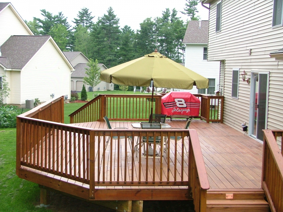 Affordable deck ideas small floating deck ideas picture for Affordable deck designs