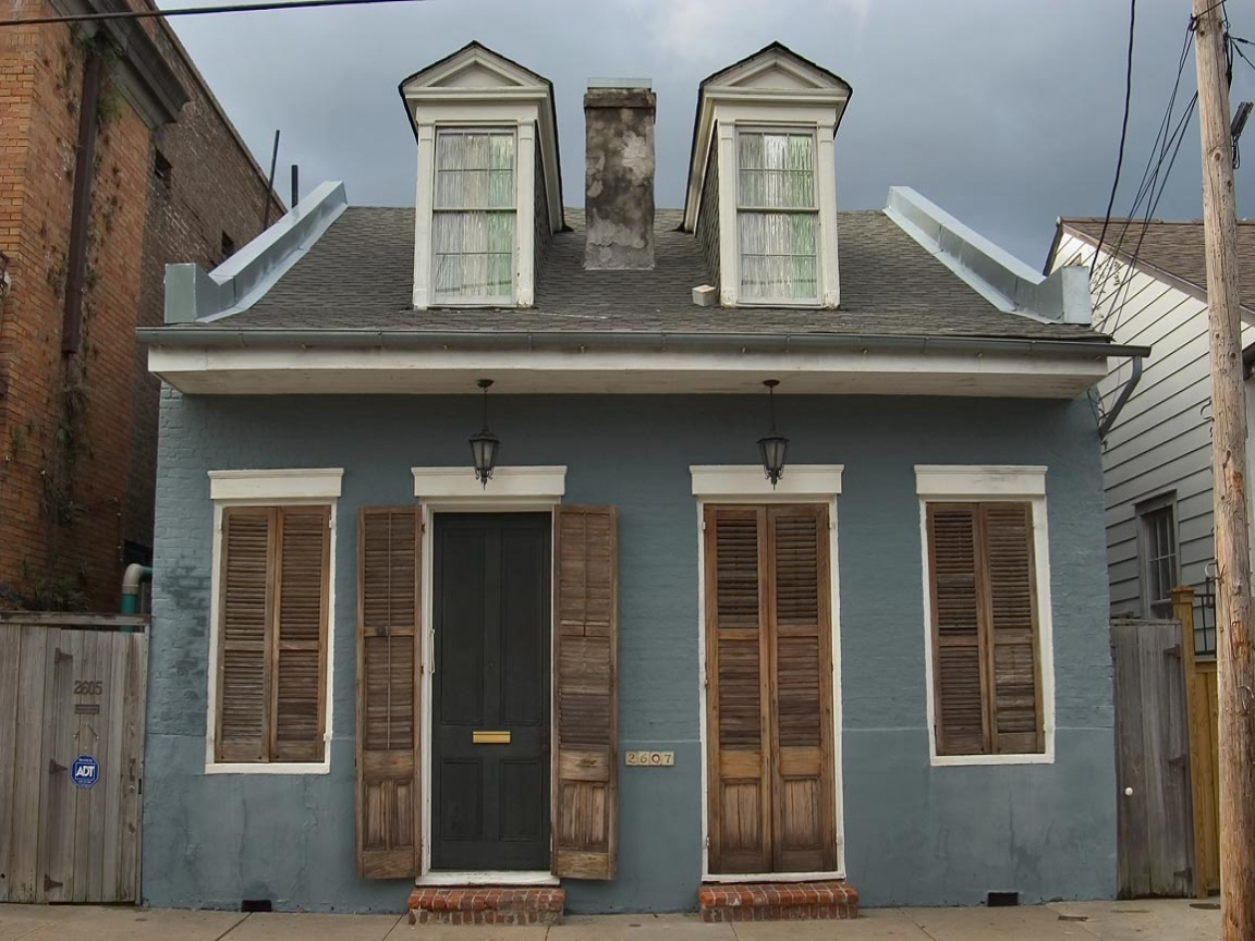 Creole cottage new orleans new orleans shotgun houses for Modern new orleans homes