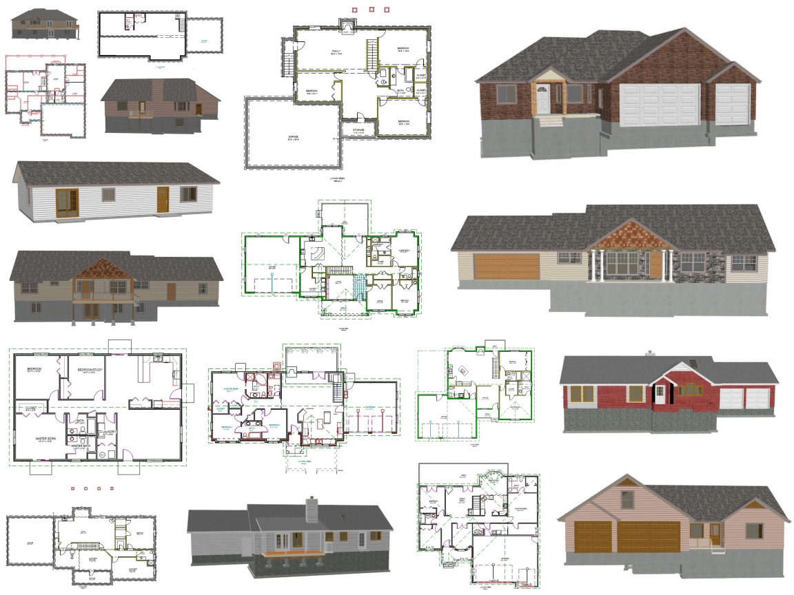 Free House Plans Blueprints Free Printable House Plans