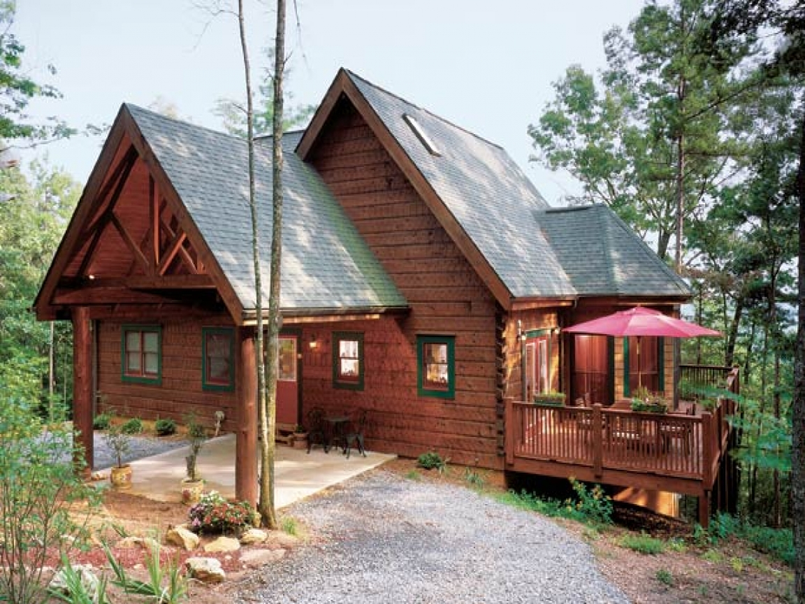 Log cabin style home small log cabin style homes home for Log cabin styles
