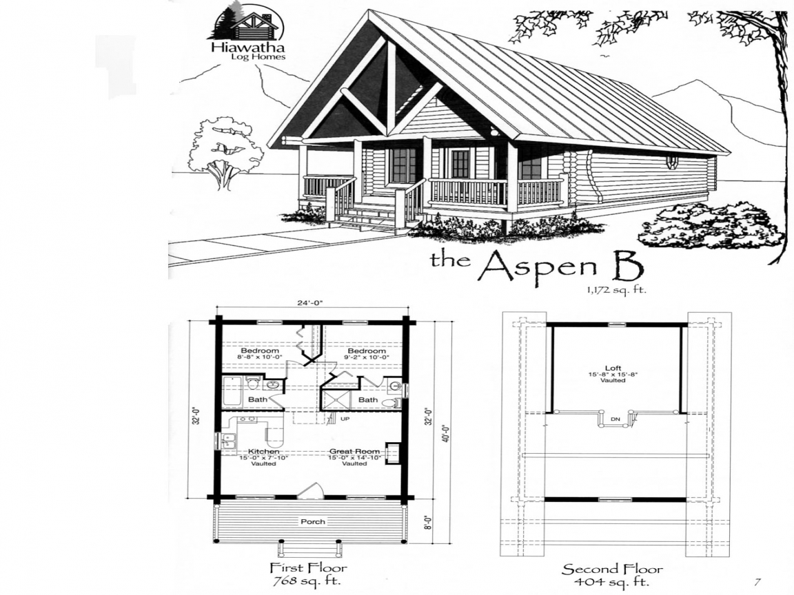 Small cabin house floor plans small cabins off the grid for Basic log cabin plans