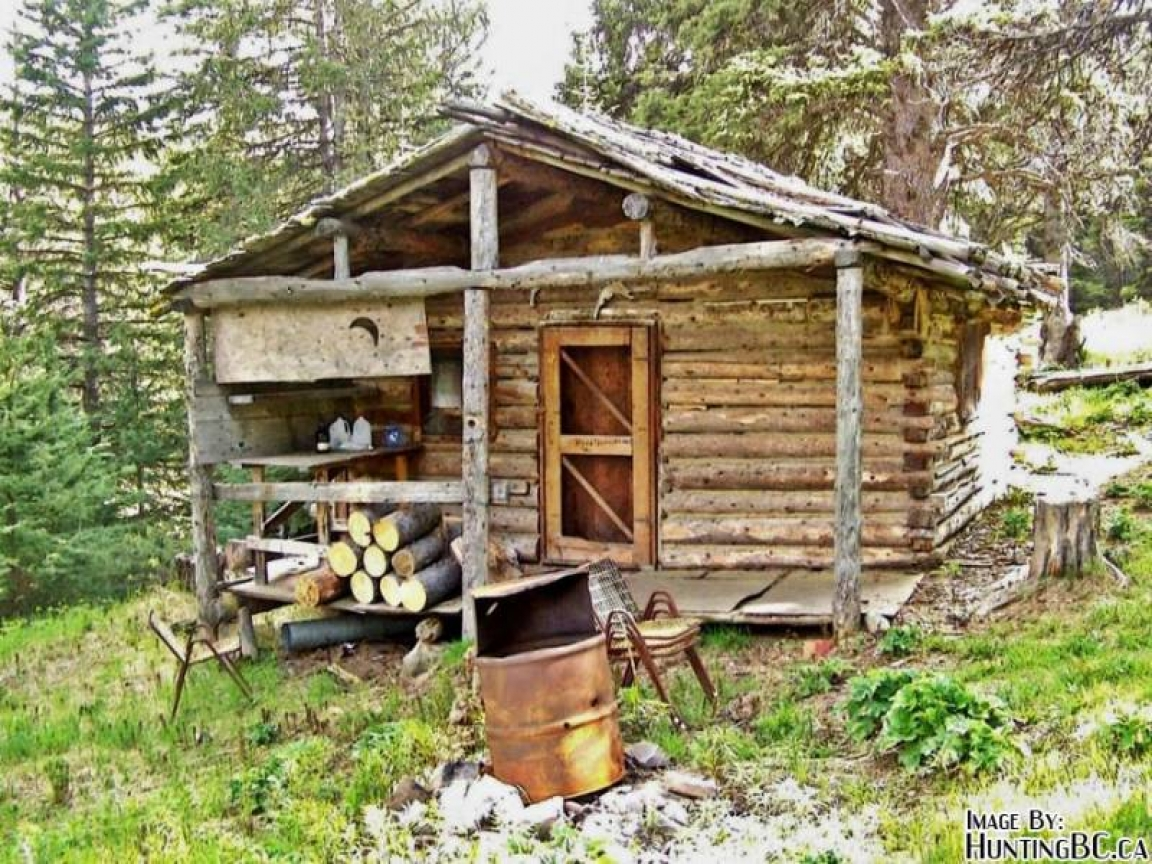 Hunting Cabin Interior Do It Yourself Hunting Cabins: Small Log Cabin Interiors Building Small Hunting Cabin