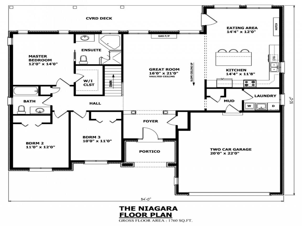 House plans canada canadian house and home bungalow house - Canadian home designs floor plans ...