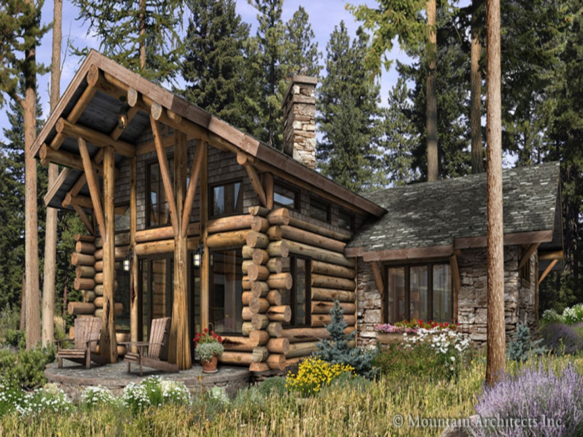 Luxury log cabin home plans inside luxury log homes for Luxury cabin designs