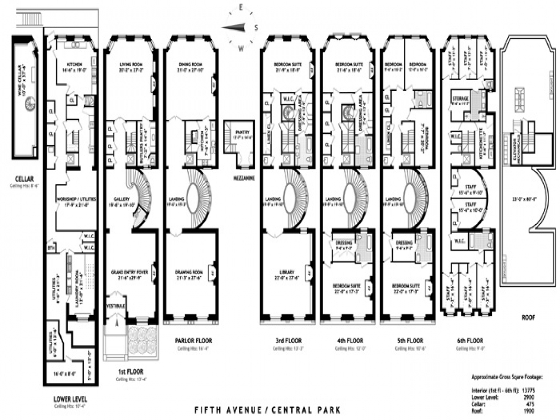 Mansion with servants quarters floor plans victorian for Servant quarters floor plans