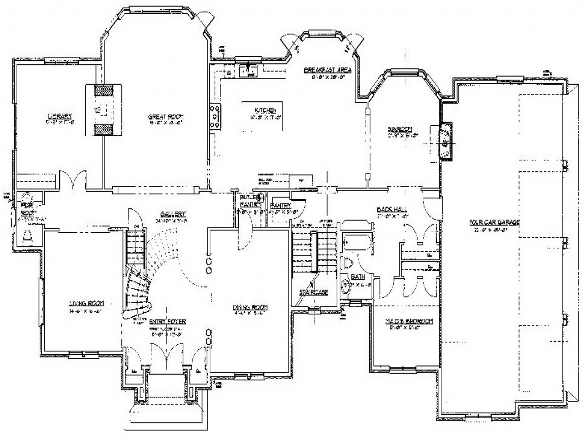 Mobile home floor plans double wide 20 x 48 new mobile for Wide house floor plans