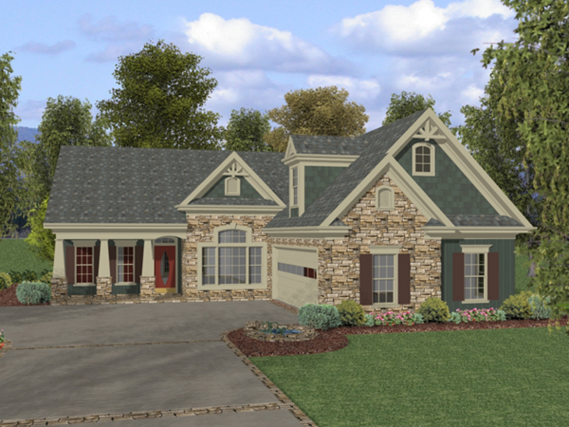 Rustic Ranch Style Home Plans Texas Limestone Ranch Style