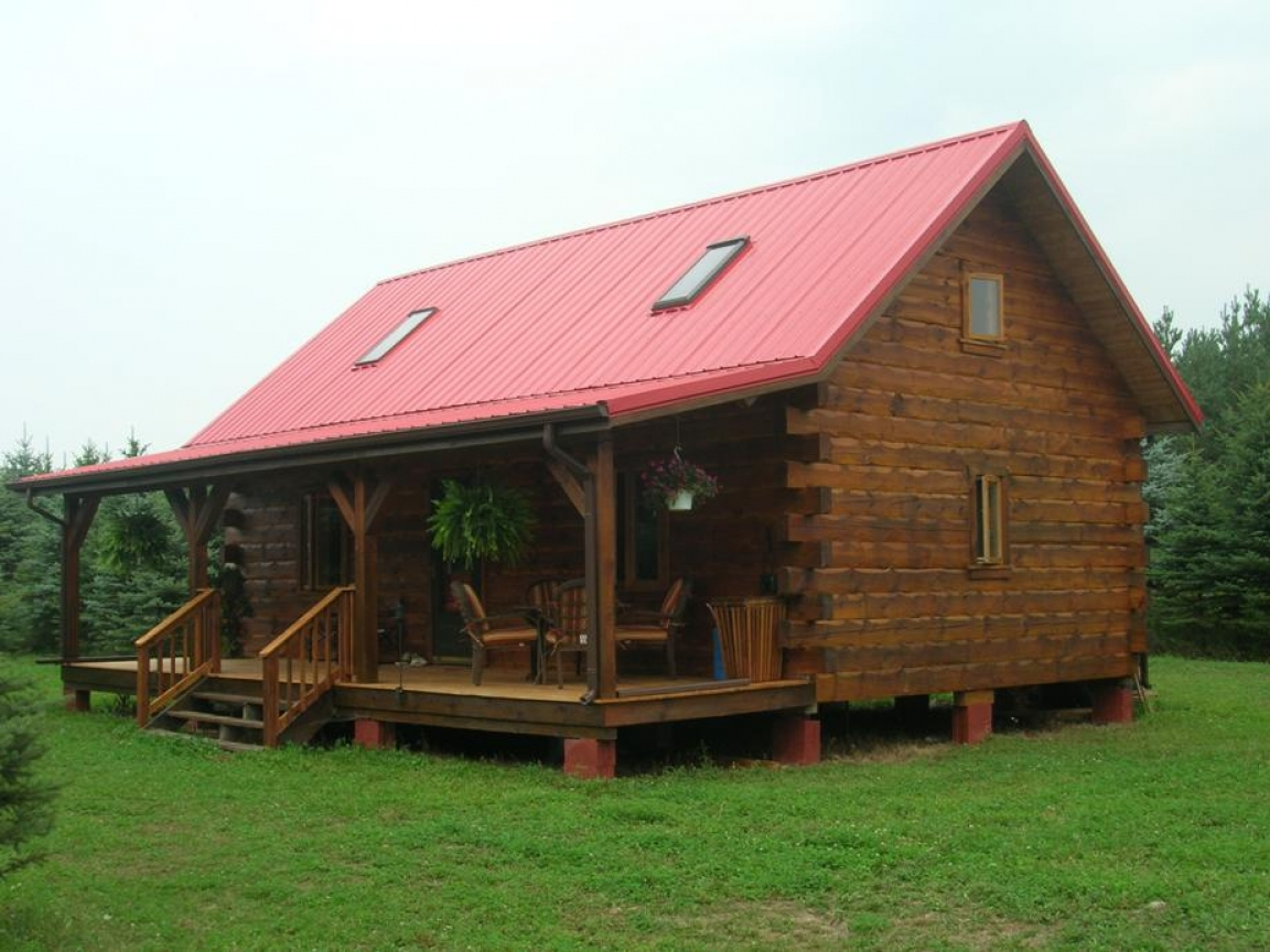 Small Log Cabin Floor Plans Small Log Cabin Home House