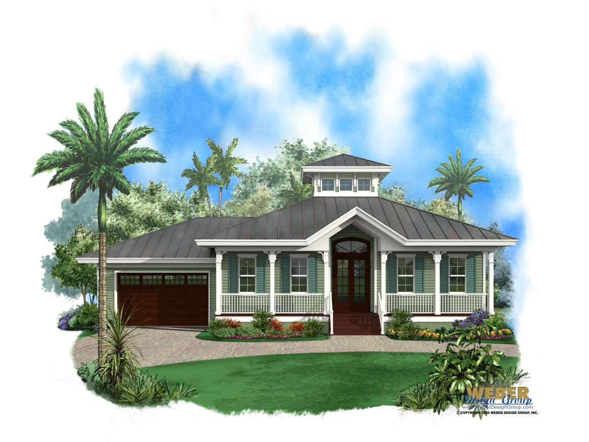 Small style homes key west key west style house plans for Coastal cottage style homes