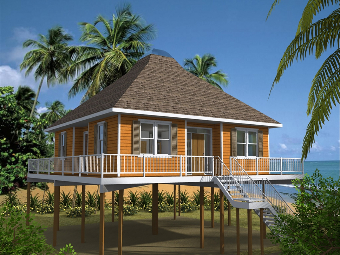 Waterfront House Plans On Pilings