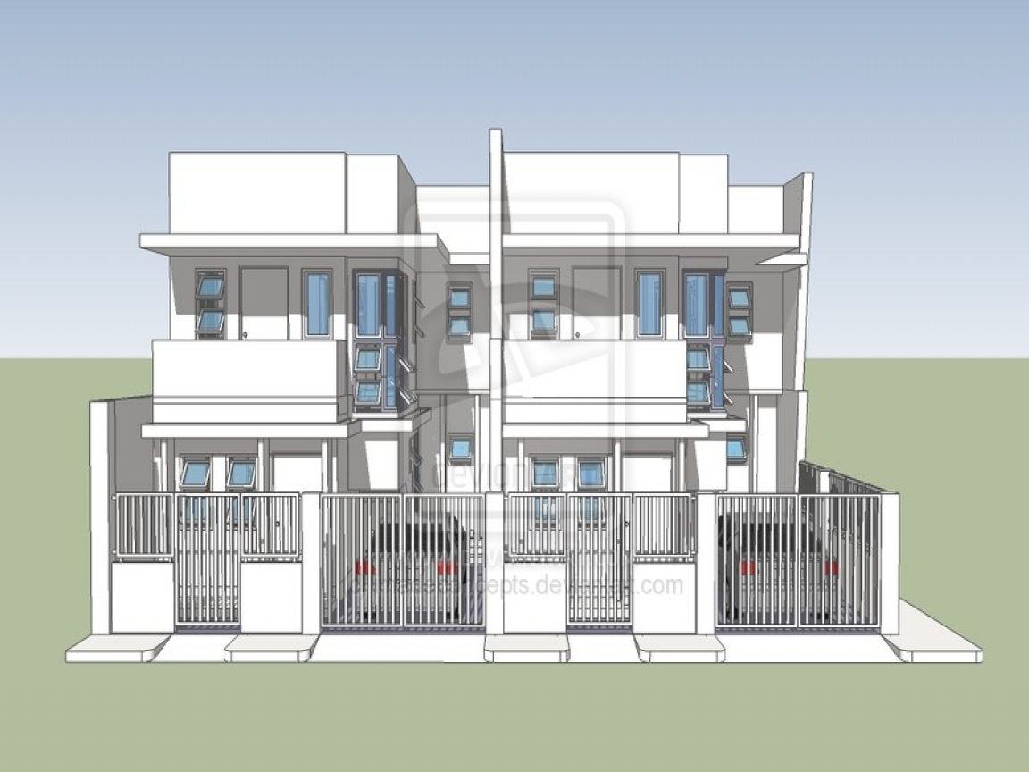Beach townhouse plans modern townhouse design plans for Townhouse design