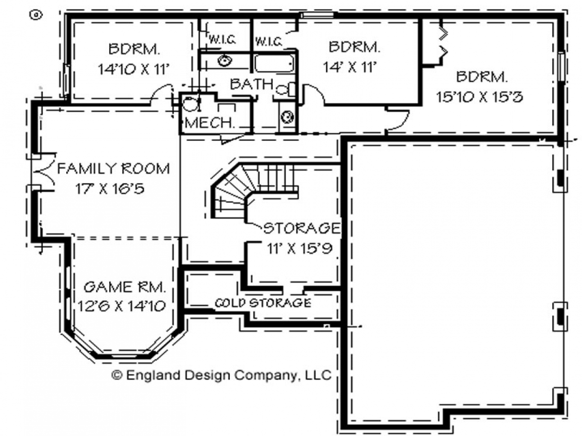 House floor plans with basement house floor plans with for Free printable house plans
