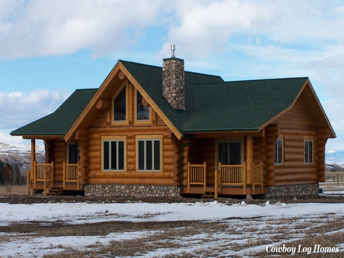 Ranch style log home plans texas ranch style log homes for Ranch home kits for sale
