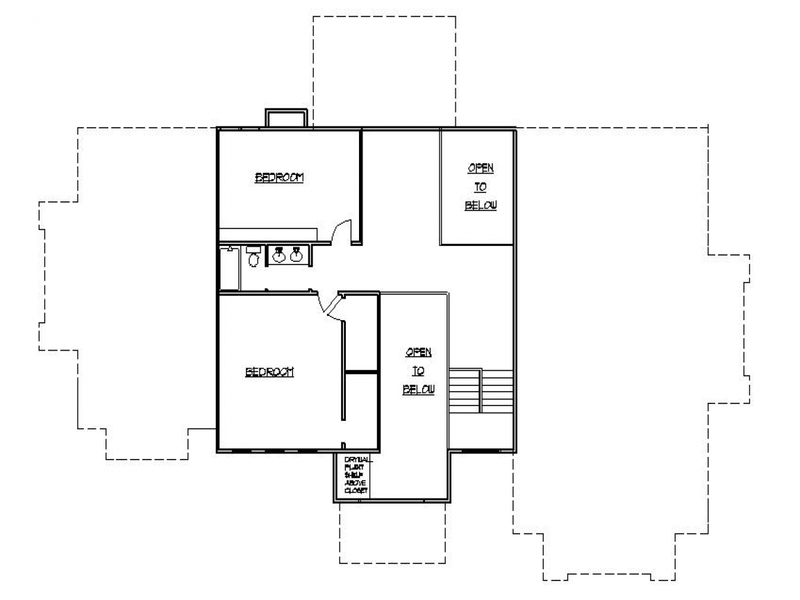 Second story addition ideas second story house additions for Ranch second story addition plans