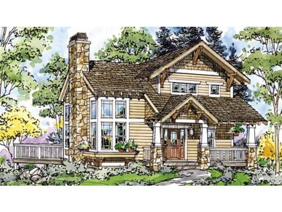 Eplans craftsman house plan two bedroom craftsman 1171 for Eplan house plans