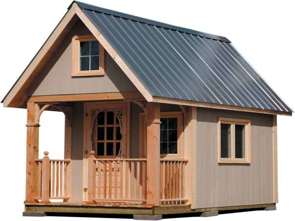 Inexpensive small cabin plans cabin with loft plans free for Shed roof cabin with loft