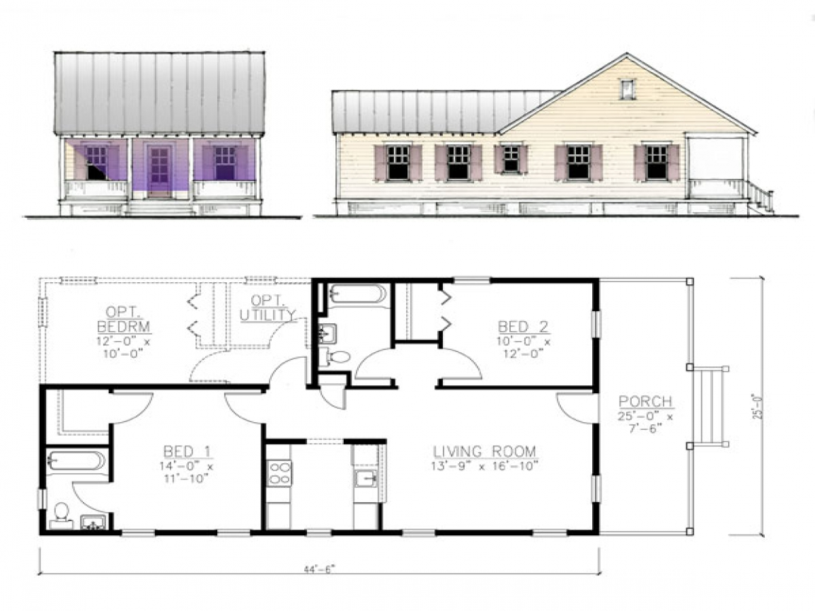 Katrina Cottage House Plans Katrina Cottages Costs Lowes
