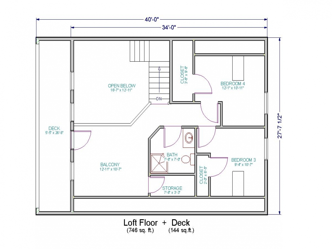 Ranch House Floor Plans With Loft 20 Spectacular