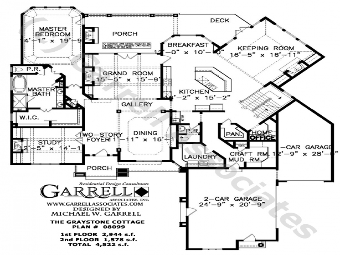 Stone cottage homes stone cottage house floor plans for Rivendell cottage house plans