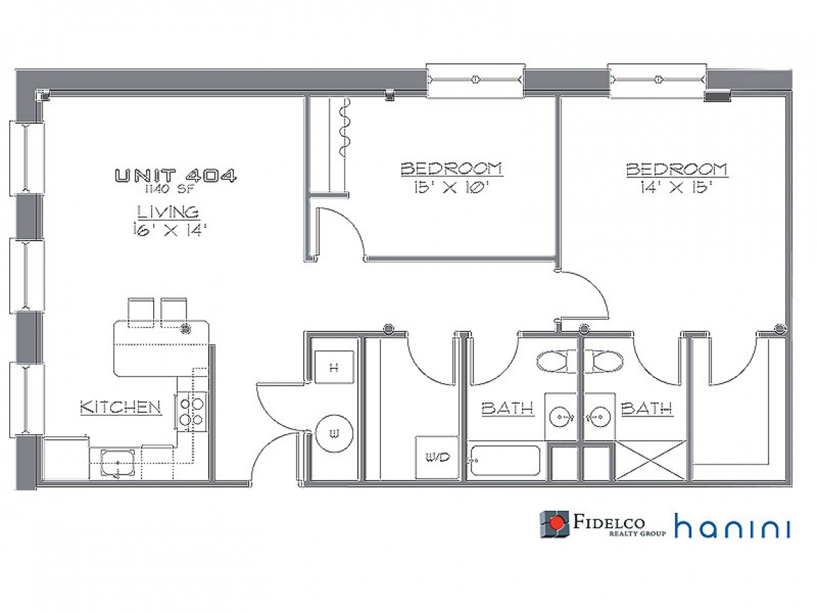 1 Bedroom Studio Apartment 2 Bedroom Loft Apartment Floor Plan 2 Bedroom Loft Floor Plans