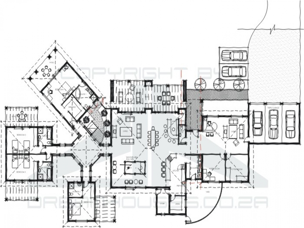 Pool guest house floor plans guest house floor plan for Pool guest house floor plans