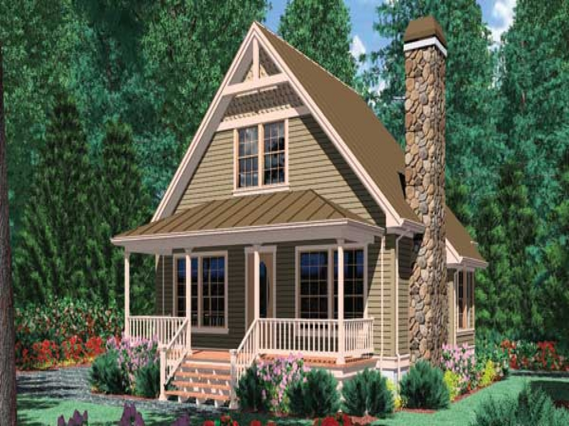 Simple small house floor plans small house plans under for Miniature homes design