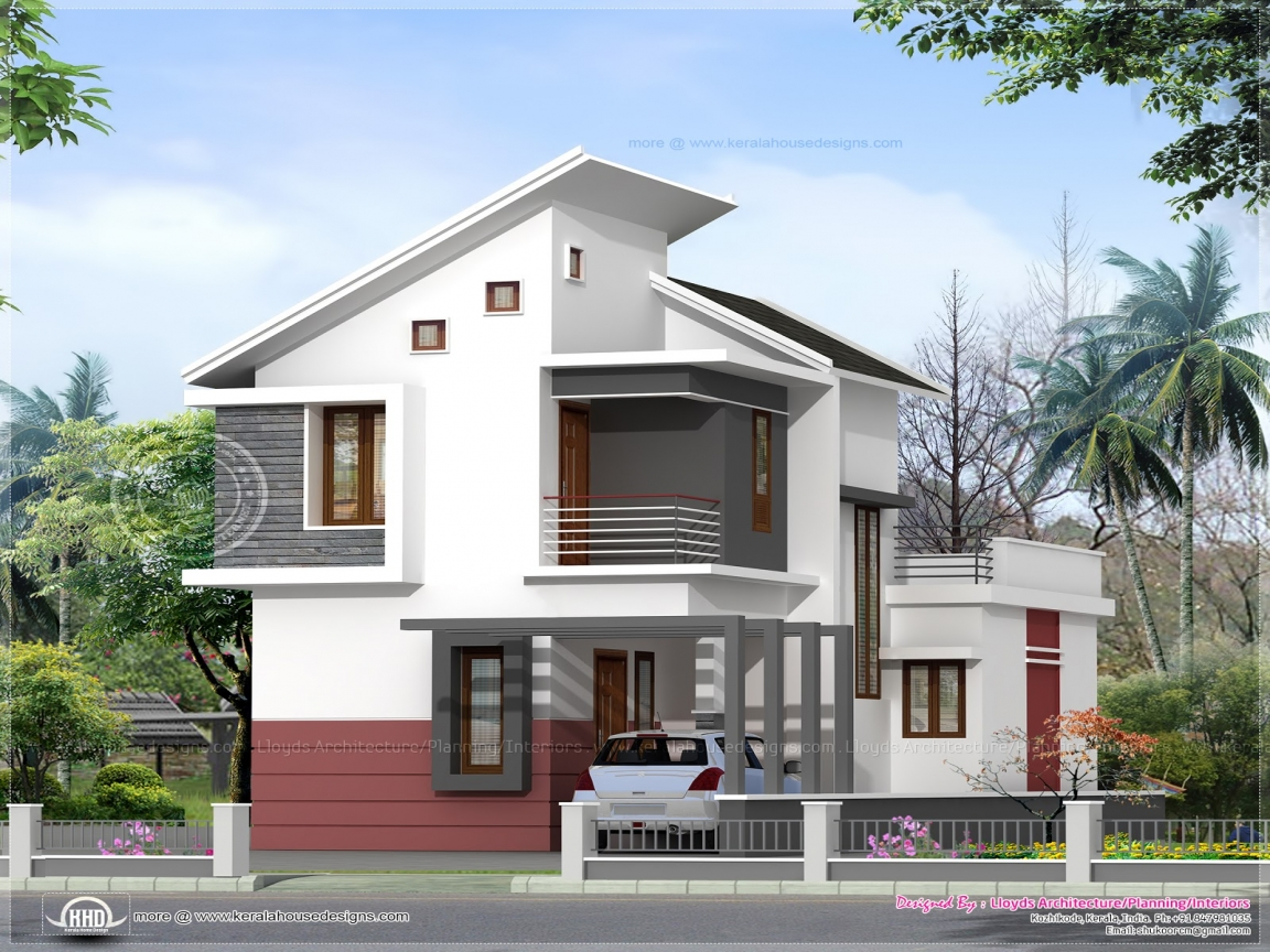 Small House Elevations Kerala : Small home kerala house design plans and