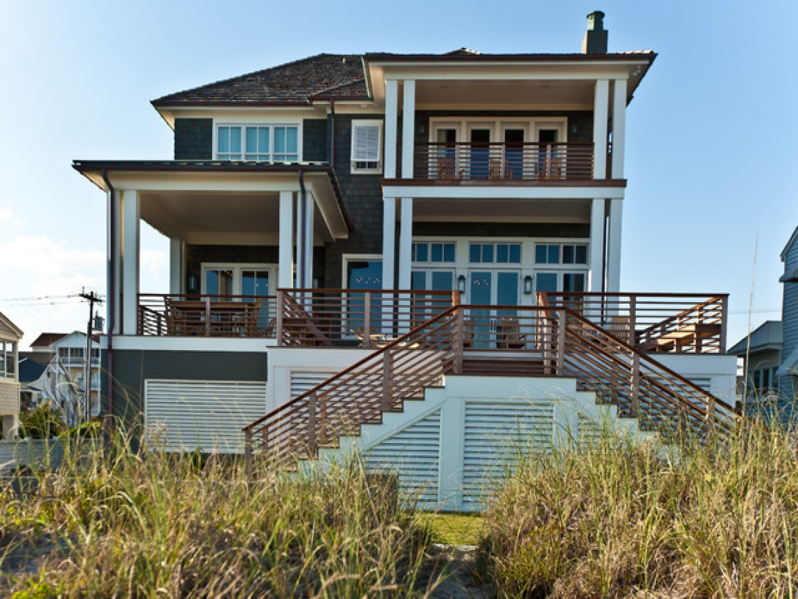 Beach house exterior color schemes beach house exterior for New construction craftsman homes