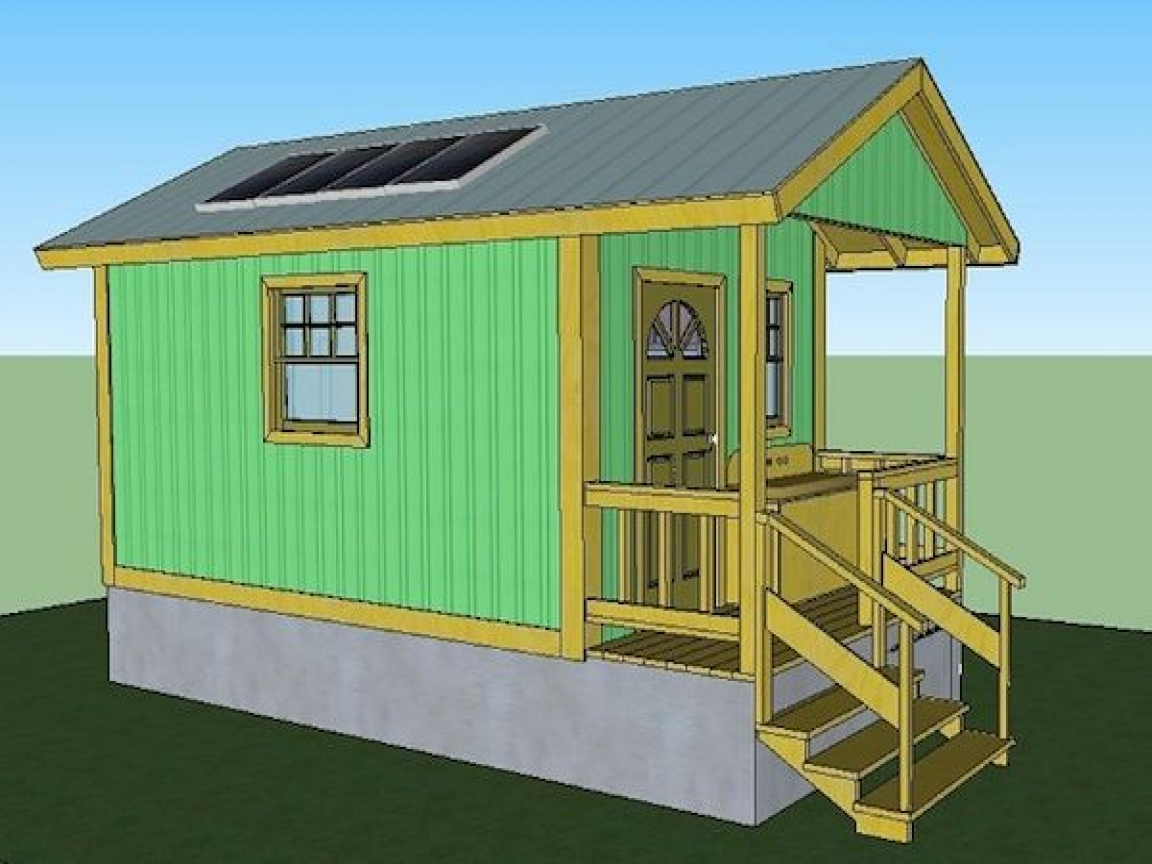 Micro houses under 600 sq ft 200 sq ft tiny house floor for Small house plans under 600 sq ft