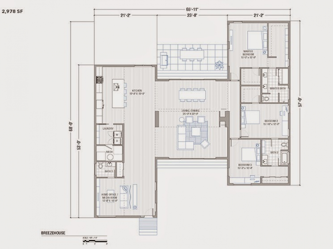 Breeze House Floor Plans: Prefab Home Additions Blu Homes Breeze House Floor Plan