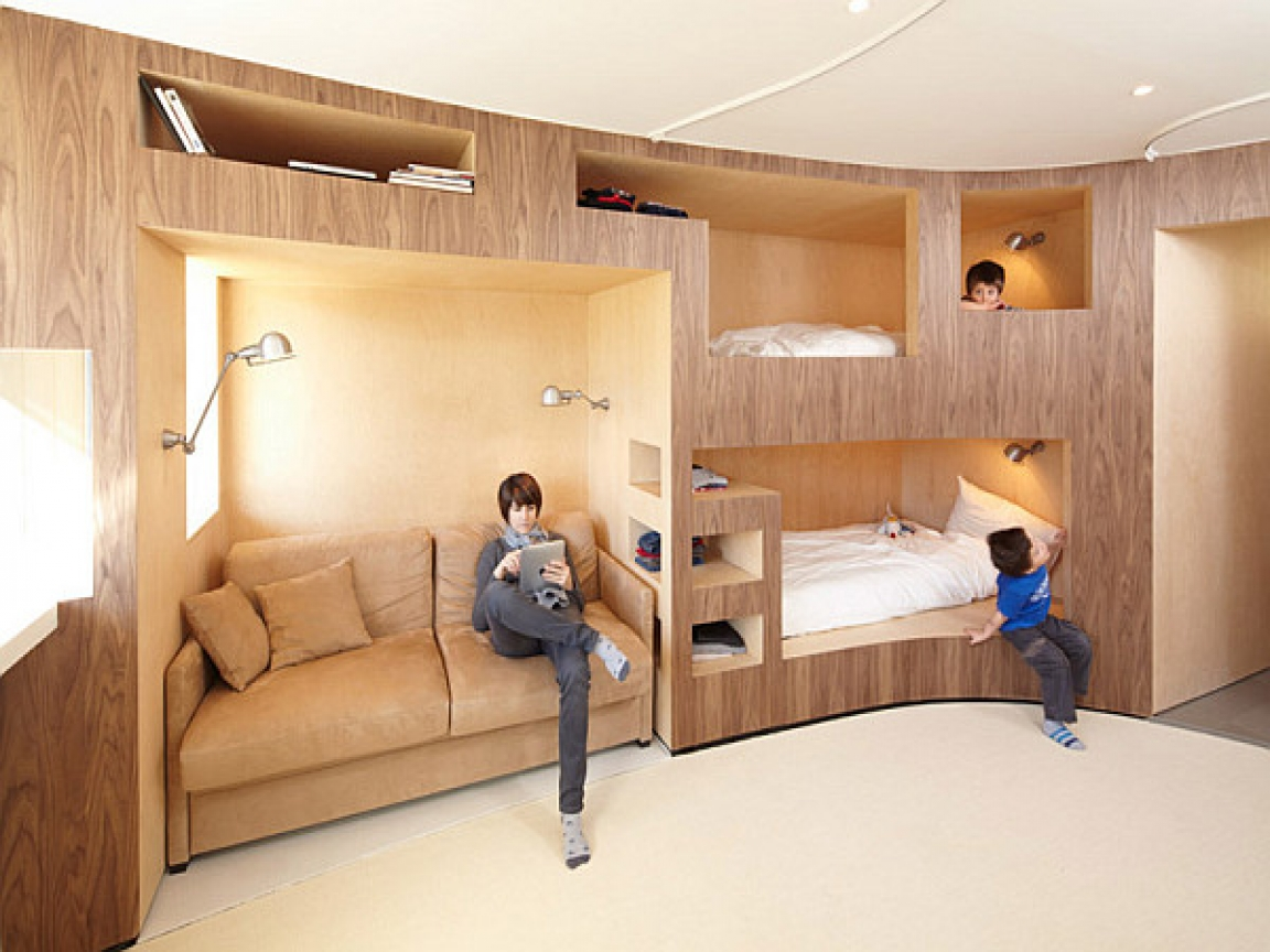 Small Bedroom Design with Bunk Bed Romantic Small Bedroom ...