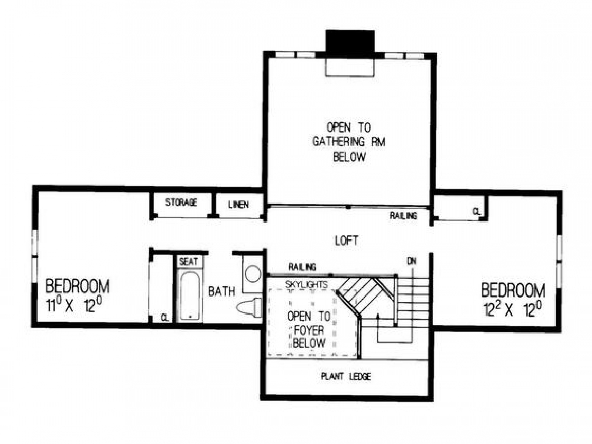 Bungalow addition floor plans one story bungalow floor for Addition floor plans
