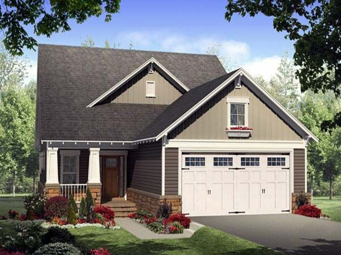 Bungalow house plans with porches bungalow house plans for Southern living garage plans
