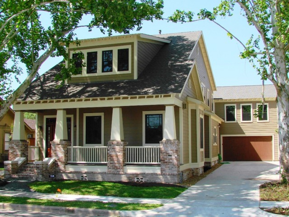 Craftsman Bungalow Style Home Exterior Bungalow Style