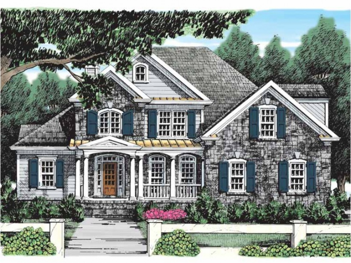 French cottages for you french country cottage house plans for Eplans cottage house plan