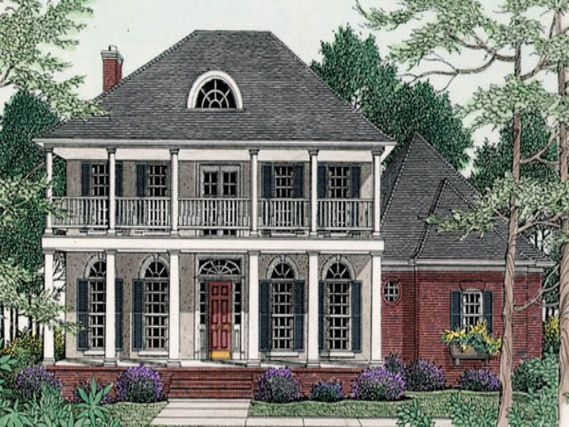 Inside Old House Old Southern Plantation House Plans