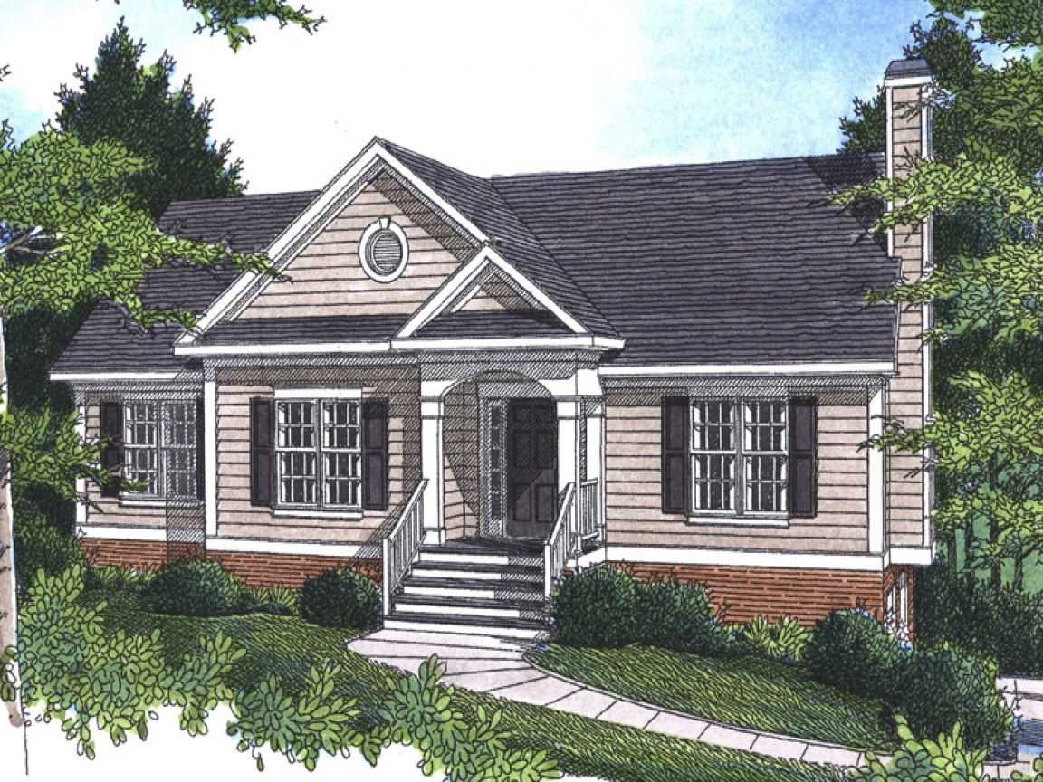 Raised ranch homes house plans georgian colonial house for Raised home designs