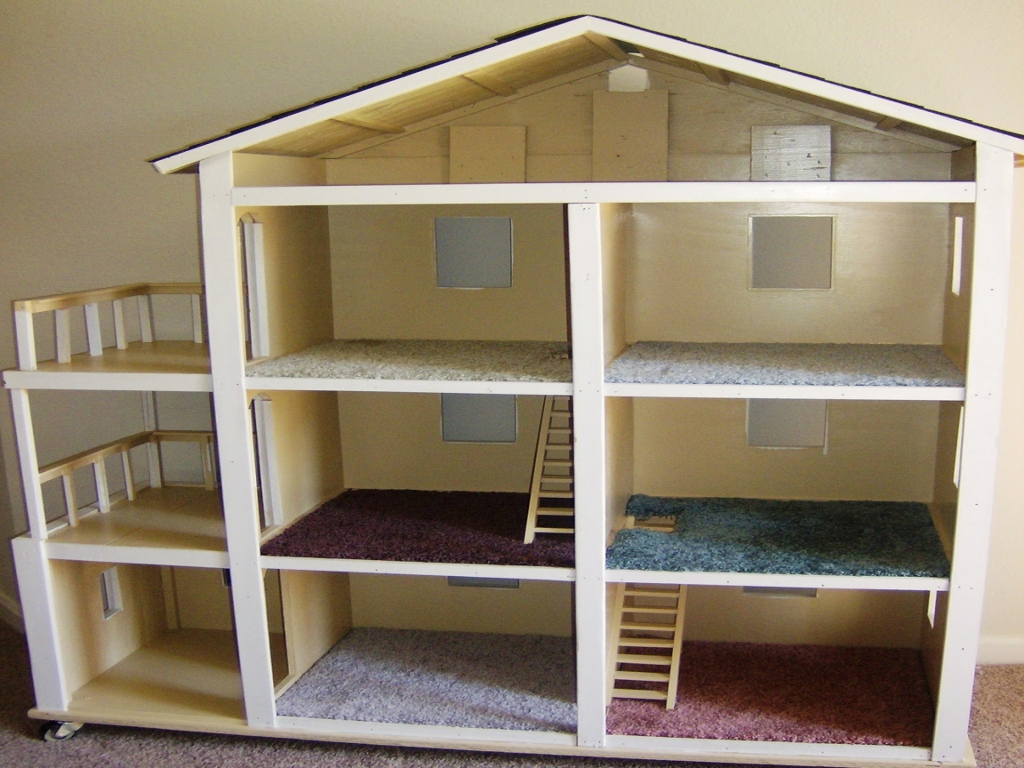 how to build a barbie doll house
