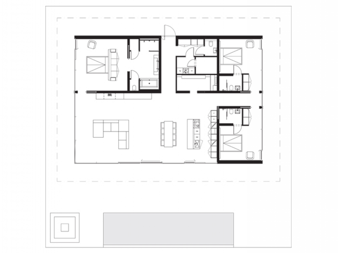 Best vacation house plans modern lake house plans lake for Vacation home floor plans