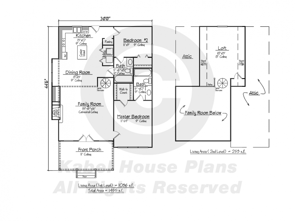House plans acadian style home acadian style house plans for One story cottage house plans