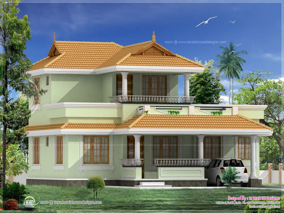 Traditional kerala house designs small house plans kerala for Indian traditional home designs