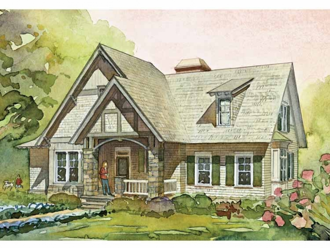 English cottage style house plans english country cottage for Country style house plans