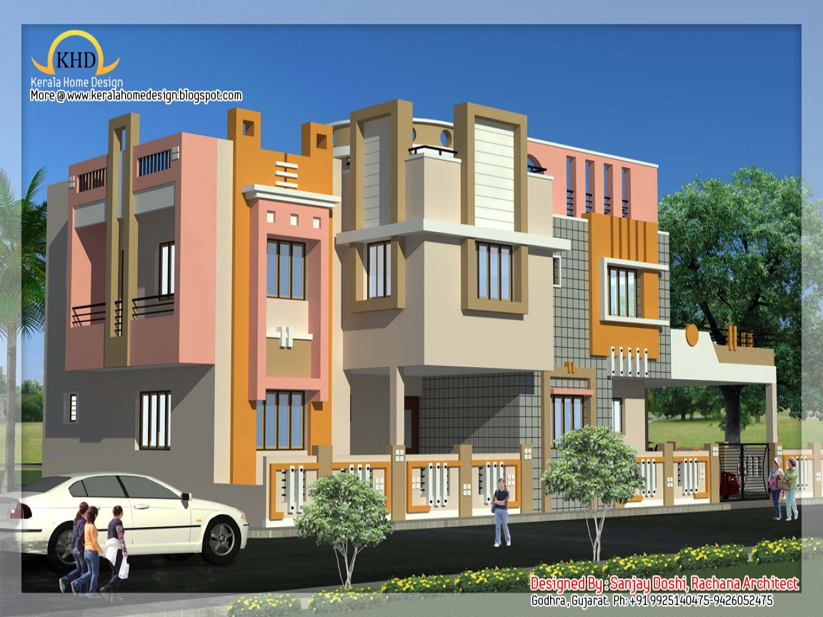 Indian duplex house designs duplex house plans and designs for Duplex home designs in india