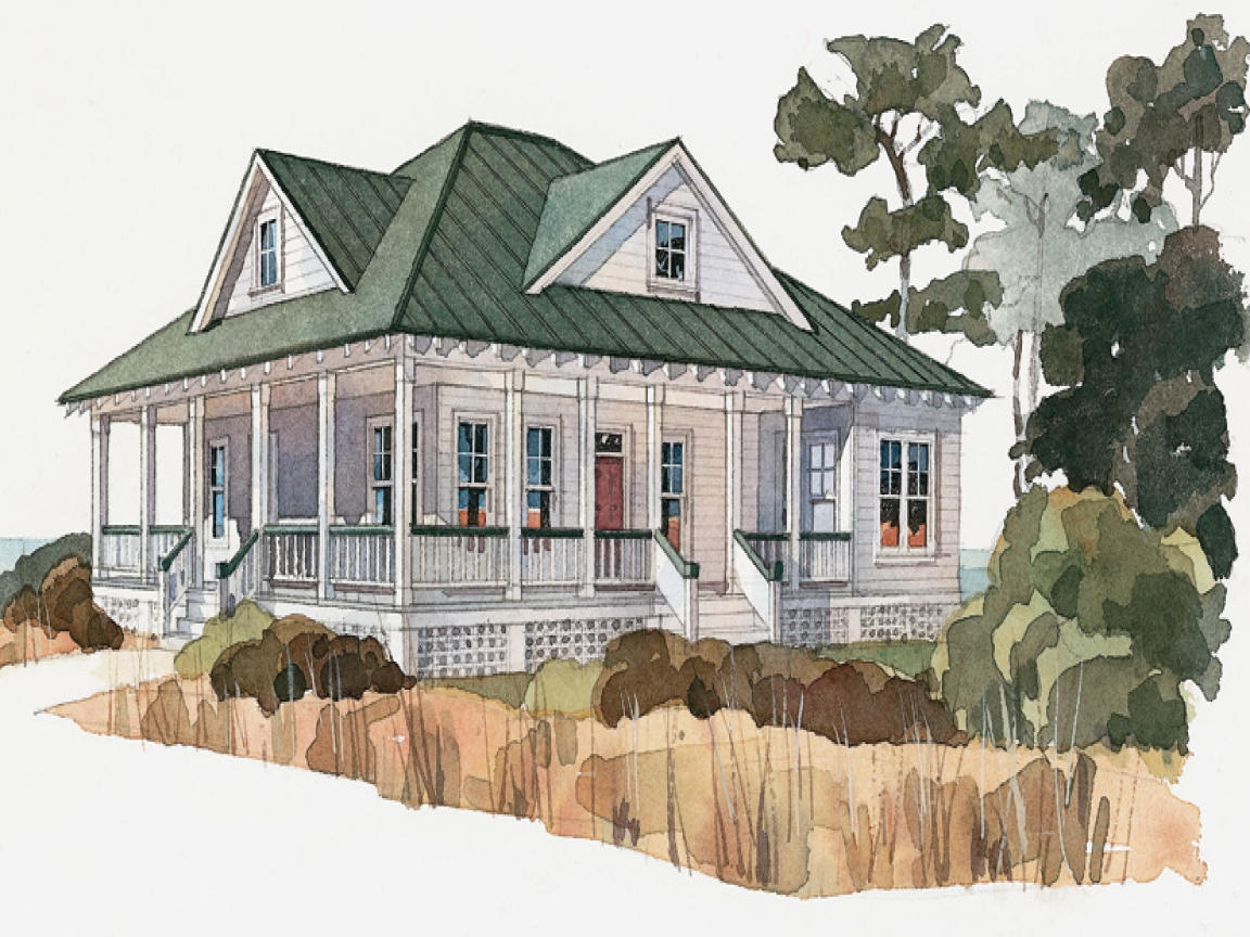 Low Country Cottage House Plans Low Country House Plans