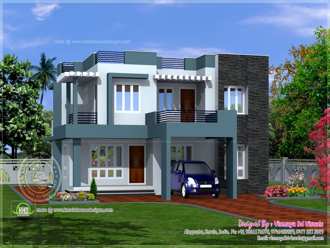 Modern tropical house design simple home modern house for Modern tropical home designs