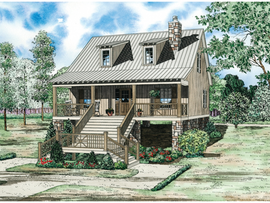 Vacation house plans with loft vintage vacation house for Vacation home plans with loft