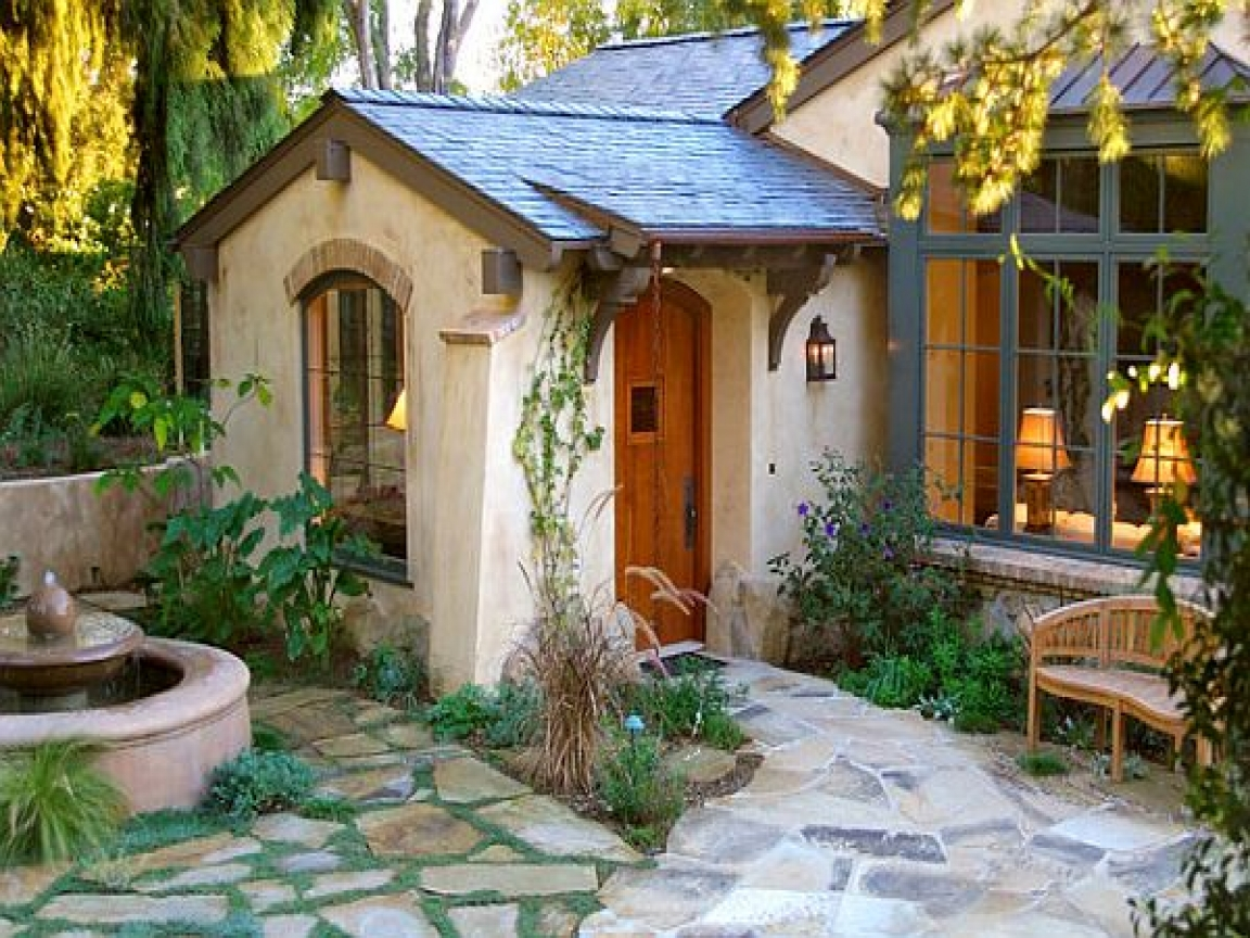 White Cottage Style Homes Cottage Style Homes Exterior