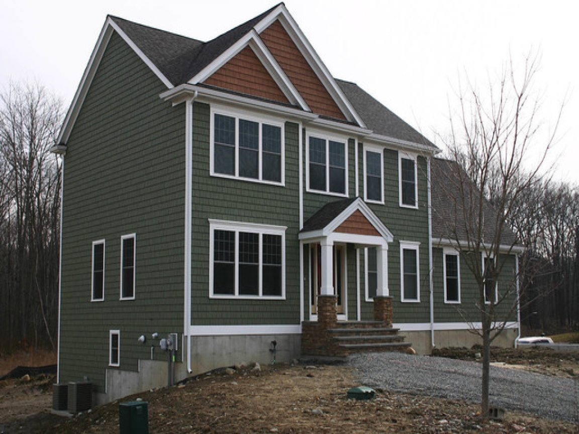 Beautiful two story house two story craftsman house colors for Beautiful two story homes