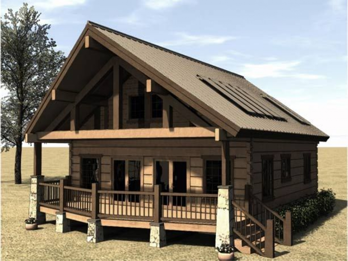 Cabin house plans with porches cabin house plans with for Cottage house plans with porch
