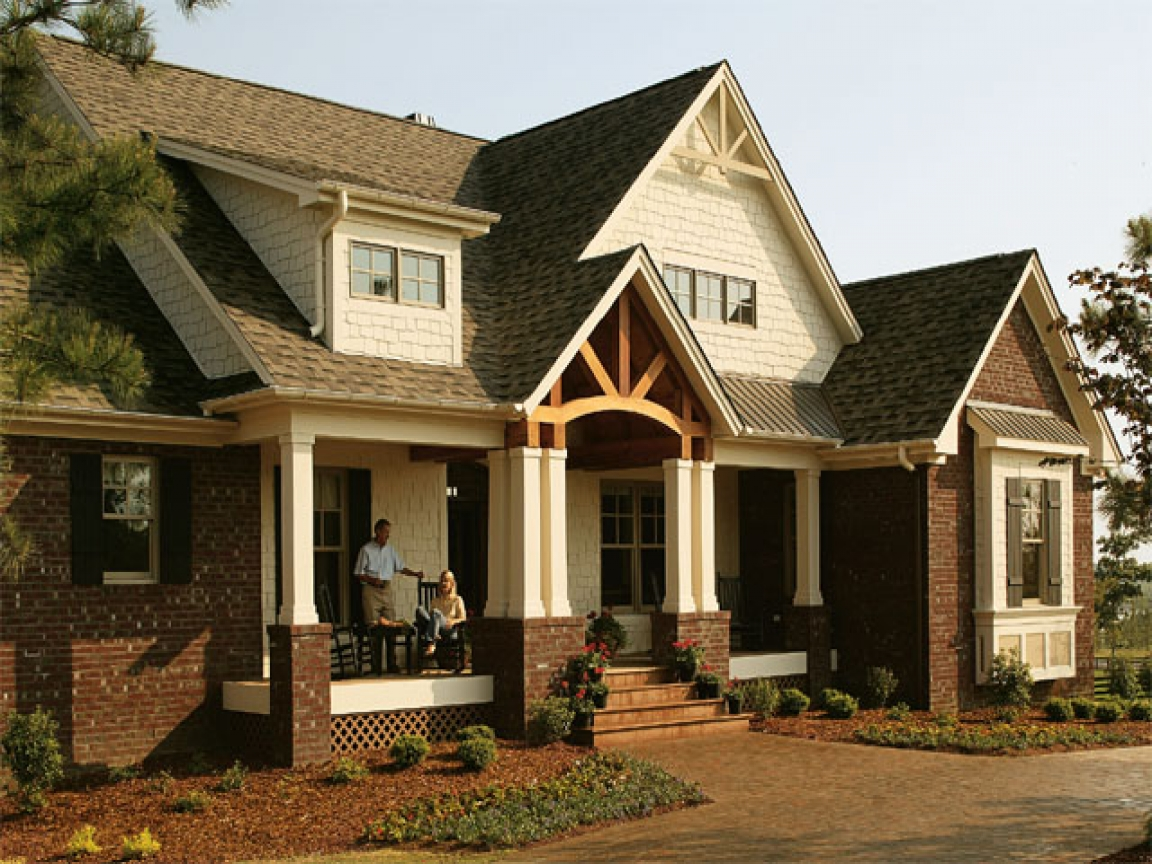 Donald gardner architects features craftsman style house for Don gardner house plans with walkout basement
